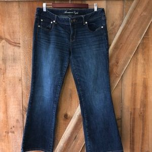 American Eagle stretch jeans size 14 short